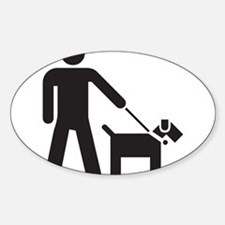 Walking the Dog Decal