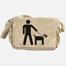 Walking the Dog Messenger Bag
