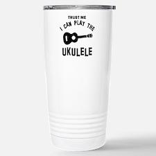 Cool Ukulele designs Travel Mug