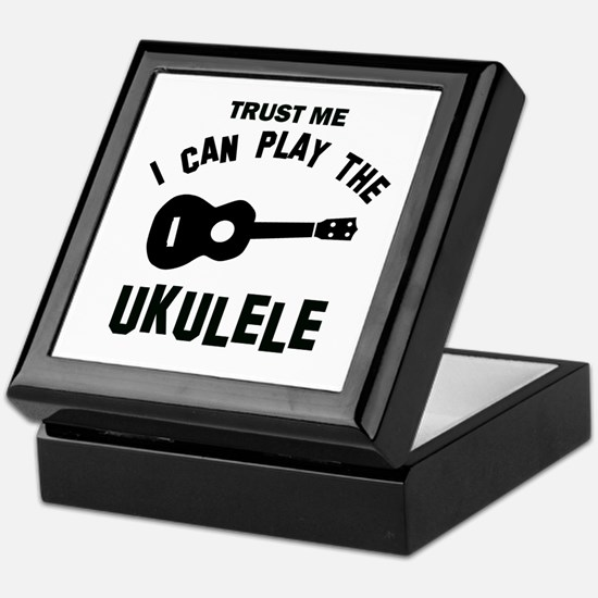 Cool Ukulele designs Keepsake Box