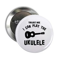 "Cool Ukulele designs 2.25"" Button"