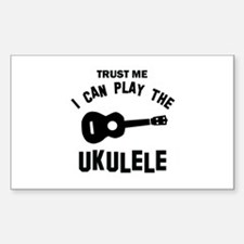 Cool Ukulele designs Decal