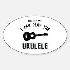 Cool Ukulele designs Decal