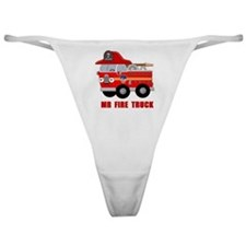 Mr Fire Truck Classic Thong