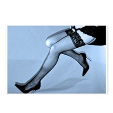 Sexy Blue Legs Postcards (Package of 8)