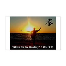 Strive for the Master Car Magnet 20 x 12