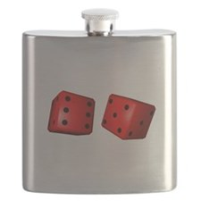 Red Dice Flask