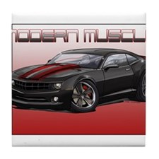 Cute Chevy stripes Tile Coaster