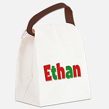 Ethan Christmas Canvas Lunch Bag