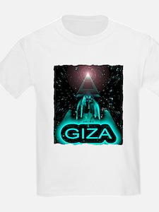 giza sphinx egypt art illustration T-Shirt
