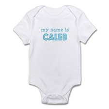 My name is Caleb Infant Bodysuit