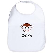 Caleb - Monkey Face Bib