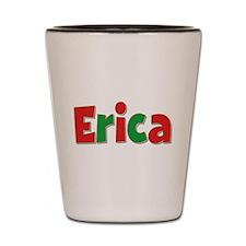 Erica Christmas Shot Glass