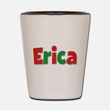 Erica Christmas Shot Glass