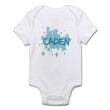Caden - Blue Stars Infant Bodysuit