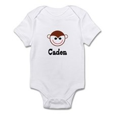 Caden - Monkey Face Infant Bodysuit