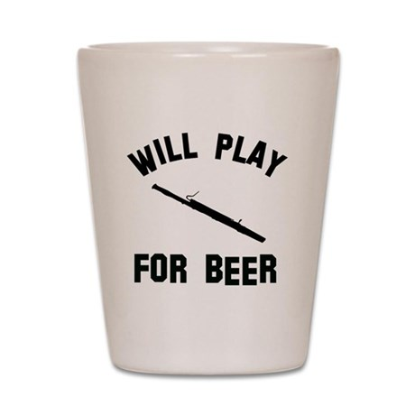 Will play the Basoon for beer Shot Glass