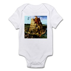 The Tower of Babel Infant Bodysuit