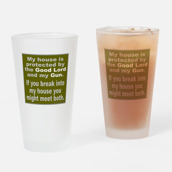 2ND/SECOND AMENDMENT Drinking Glass