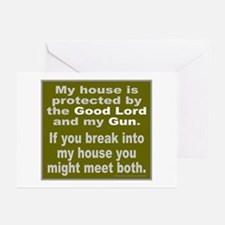 2ND/SECOND AMENDMENT Greeting Cards (Pk of 20)