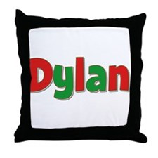 Dylan Christmas Throw Pillow
