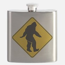 Bigfoot crossing Flask