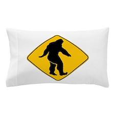 Bigfoot crossing Pillow Case