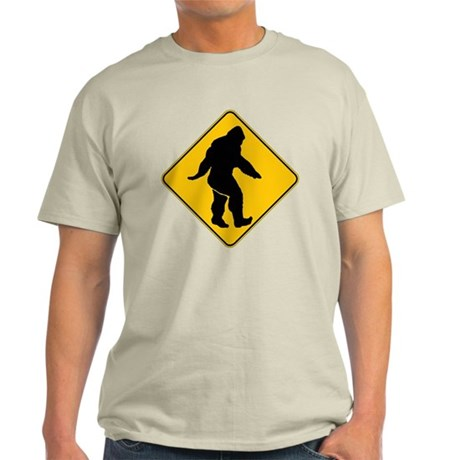 Bigfoot crossing Light T-Shirt