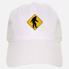 Bigfoot crossing Baseball Baseball Cap