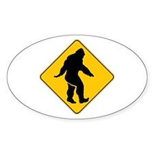 Bigfoot crossing Decal