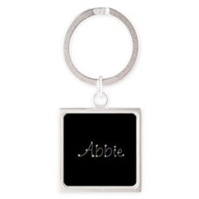Abbie Spark Square Keychain