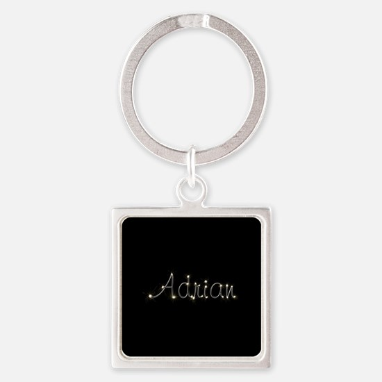 Adrian Spark Square Keychain