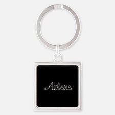 Arlene Spark Square Keychain