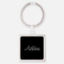 Ashlee Spark Square Keychain