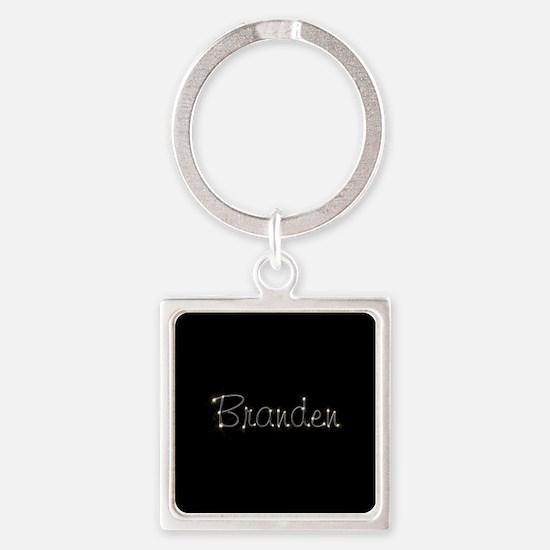 Branden Spark Square Keychain