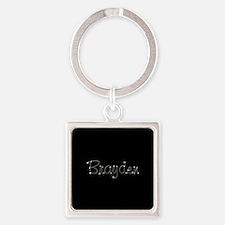 Brayden Spark Square Keychain