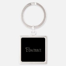 Breanna Spark Square Keychain
