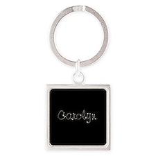 Carolyn Spark Square Keychain