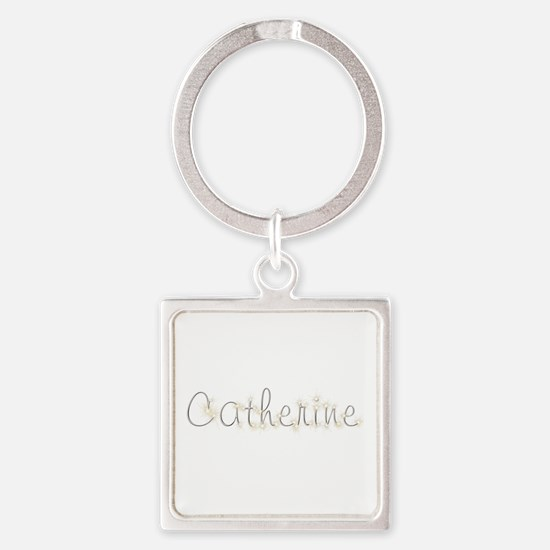 Catherine Spark Square Keychain