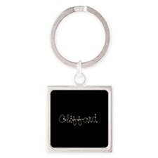 Clifford Spark Square Keychain