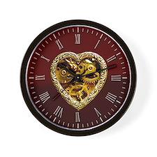 Cute Steampunk Wall Clock