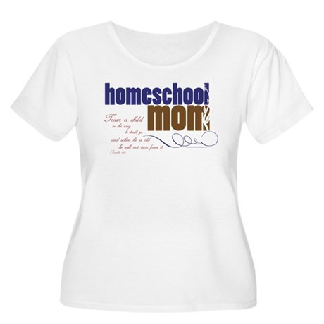 homeschool mom Plus Size T-Shirt