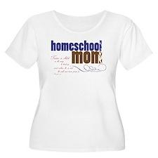 homeschool mom Plus Size T-Shirt