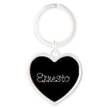 Ernesto Spark Heart Keychain