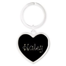 Haley Spark Heart Keychain