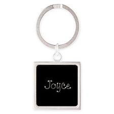 Joyce Spark Square Keychain