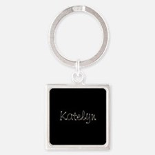 Katelyn Spark Square Keychain