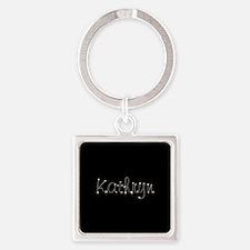 Kathryn Spark Square Keychain
