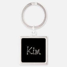 Kim Spark Square Keychain
