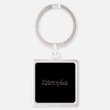 Kristopher Spark Square Keychain